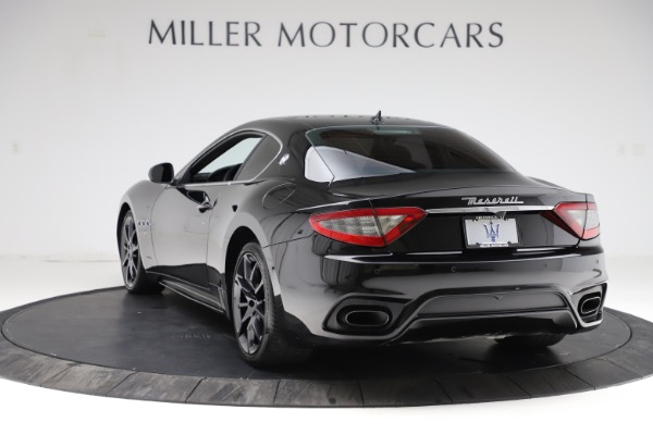 Used 2018 Maserati GranTurismo Sport for sale $89,900 at Aston Martin of Greenwich in Greenwich CT 06830 5