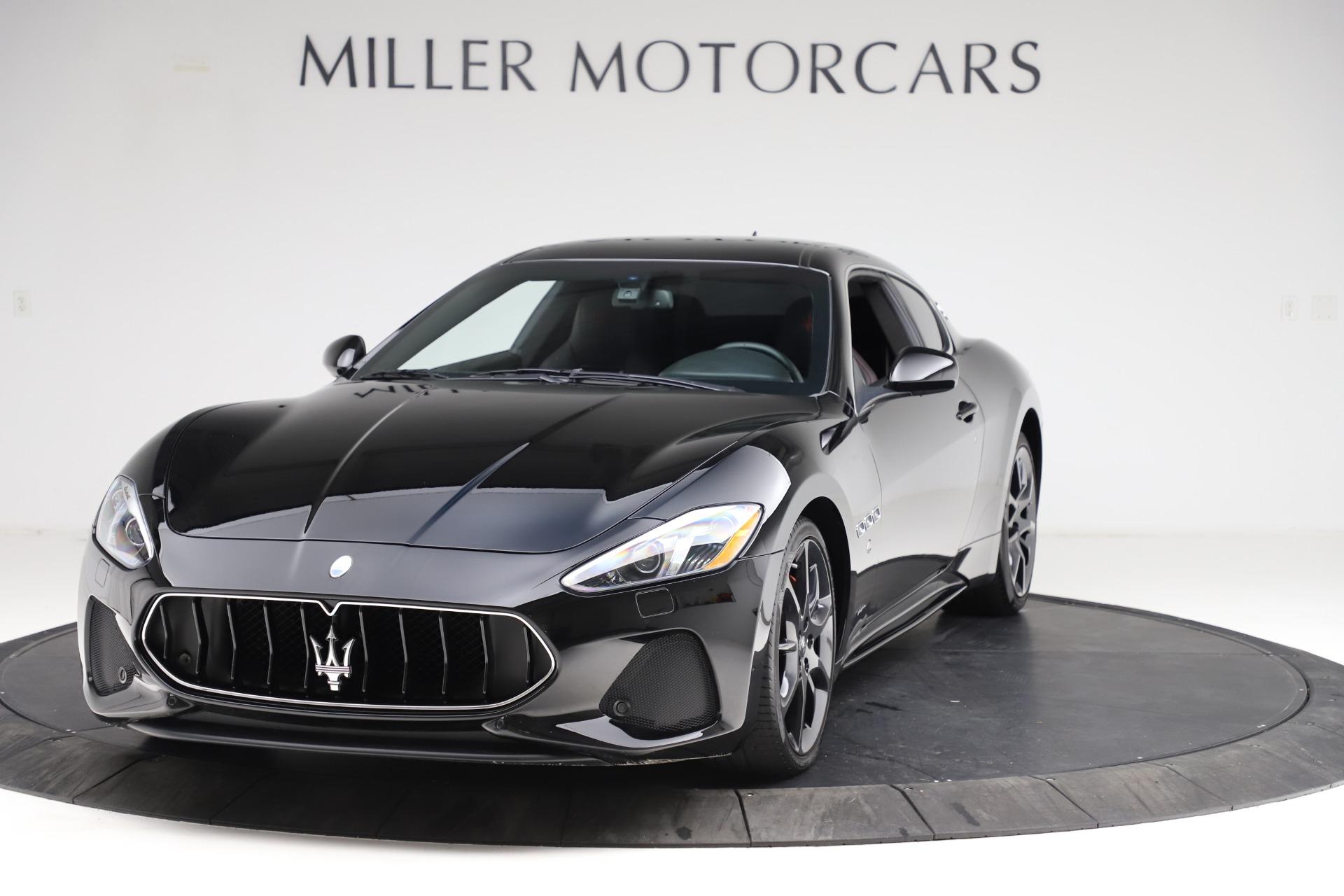 Used 2018 Maserati GranTurismo Sport for sale $89,900 at Aston Martin of Greenwich in Greenwich CT 06830 1