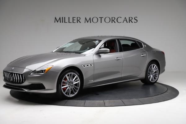 New 2021 Maserati Quattroporte S Q4 GranLusso for sale $122,435 at Aston Martin of Greenwich in Greenwich CT 06830 2