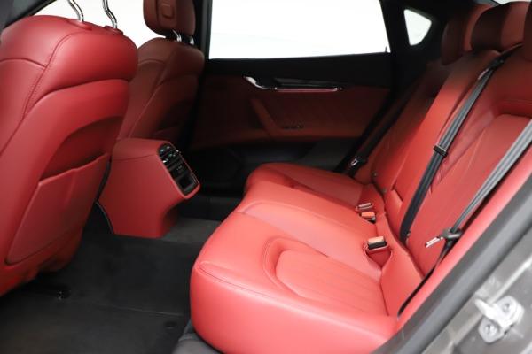 New 2021 Maserati Quattroporte S Q4 GranLusso for sale $122,435 at Aston Martin of Greenwich in Greenwich CT 06830 20