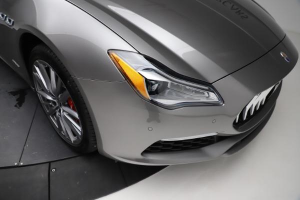 New 2021 Maserati Quattroporte S Q4 GranLusso for sale $122,435 at Aston Martin of Greenwich in Greenwich CT 06830 25
