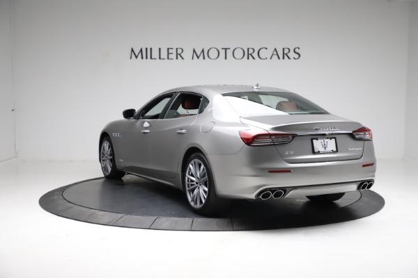 New 2021 Maserati Quattroporte S Q4 GranLusso for sale $122,435 at Aston Martin of Greenwich in Greenwich CT 06830 5