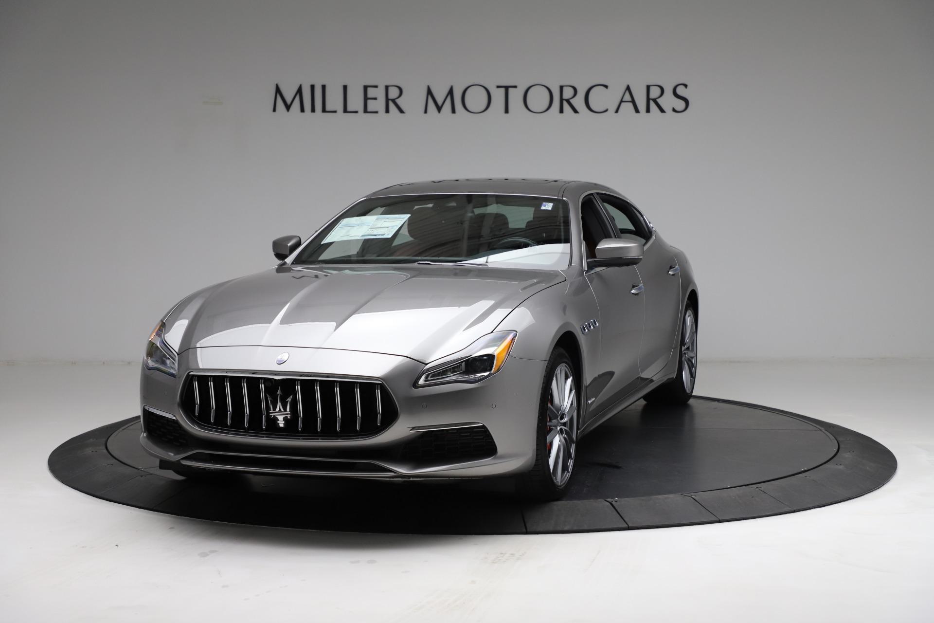 New 2021 Maserati Quattroporte S Q4 GranLusso for sale $122,435 at Aston Martin of Greenwich in Greenwich CT 06830 1
