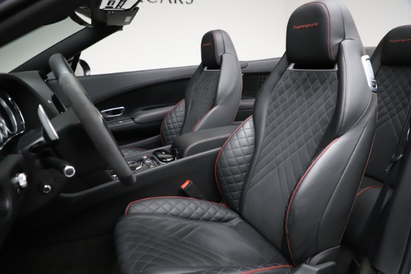 Used 2018 Bentley Continental GT Supersports for sale $209,900 at Aston Martin of Greenwich in Greenwich CT 06830 26