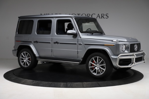 Used 2021 Mercedes-Benz G-Class AMG G 63 for sale $219,900 at Aston Martin of Greenwich in Greenwich CT 06830 10