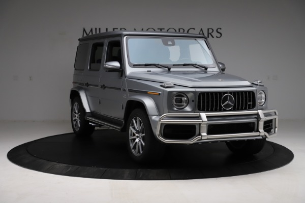 Used 2021 Mercedes-Benz G-Class AMG G 63 for sale $219,900 at Aston Martin of Greenwich in Greenwich CT 06830 11