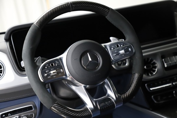Used 2021 Mercedes-Benz G-Class AMG G 63 for sale $219,900 at Aston Martin of Greenwich in Greenwich CT 06830 18