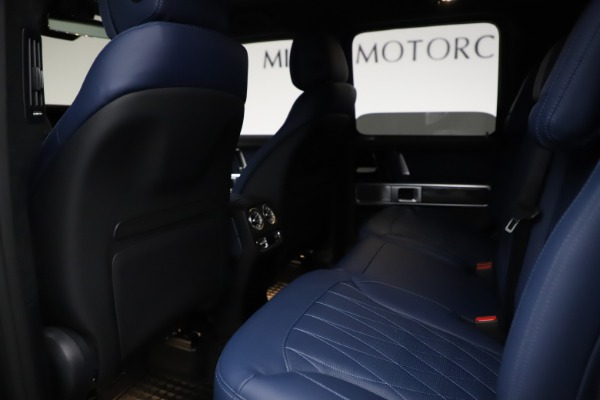 Used 2021 Mercedes-Benz G-Class AMG G 63 for sale $219,900 at Aston Martin of Greenwich in Greenwich CT 06830 19
