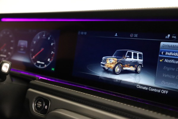 Used 2021 Mercedes-Benz G-Class AMG G 63 for sale $219,900 at Aston Martin of Greenwich in Greenwich CT 06830 24