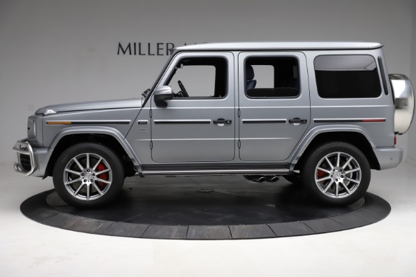 Used 2021 Mercedes-Benz G-Class AMG G 63 for sale $219,900 at Aston Martin of Greenwich in Greenwich CT 06830 3