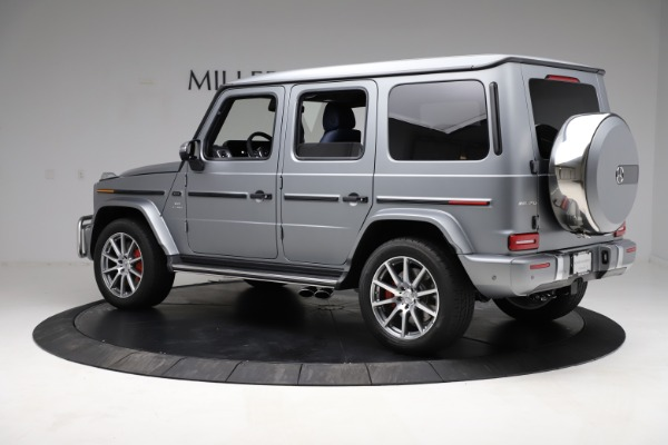 Used 2021 Mercedes-Benz G-Class AMG G 63 for sale $219,900 at Aston Martin of Greenwich in Greenwich CT 06830 4
