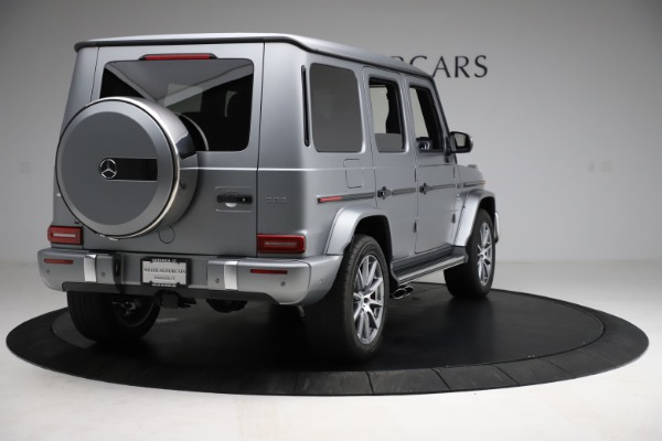 Used 2021 Mercedes-Benz G-Class AMG G 63 for sale $219,900 at Aston Martin of Greenwich in Greenwich CT 06830 7