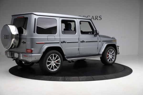 Used 2021 Mercedes-Benz G-Class AMG G 63 for sale $219,900 at Aston Martin of Greenwich in Greenwich CT 06830 8