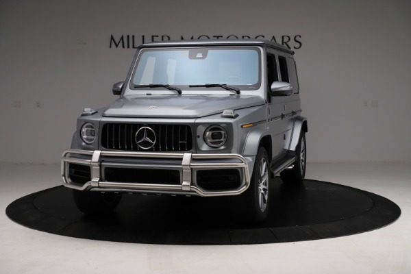 Used 2021 Mercedes-Benz G-Class AMG G 63 for sale $219,900 at Aston Martin of Greenwich in Greenwich CT 06830 1