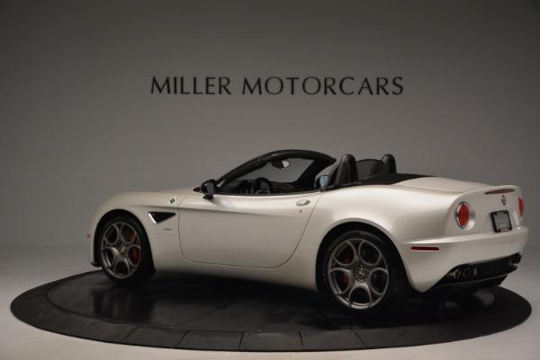 Used 2009 Alfa Romeo 8C Competizione Spider for sale $345,900 at Aston Martin of Greenwich in Greenwich CT 06830 4