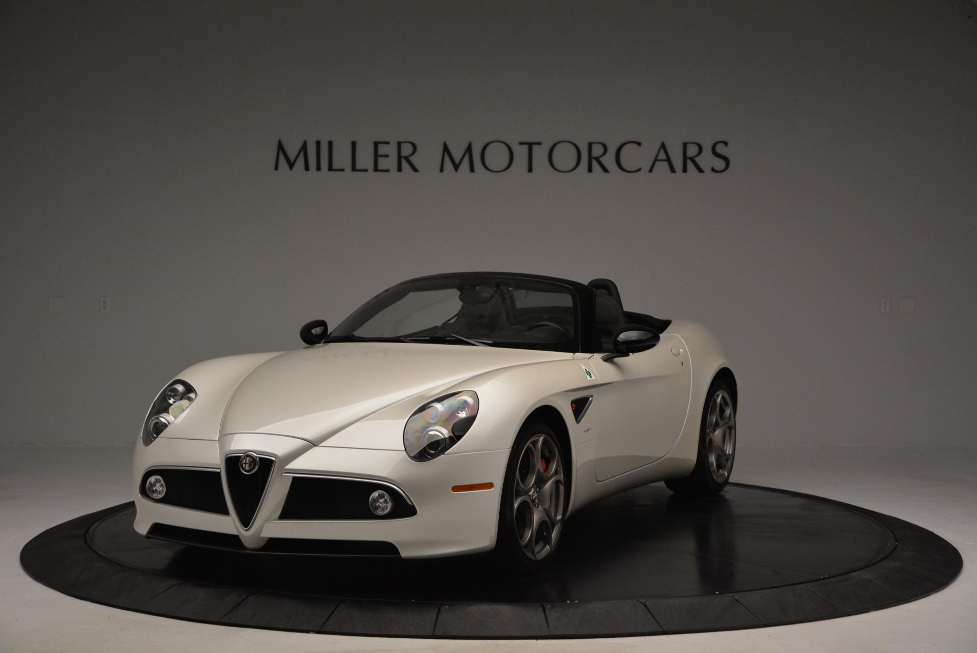 Used 2009 Alfa Romeo 8C Competizione Spider for sale $345,900 at Aston Martin of Greenwich in Greenwich CT 06830 1