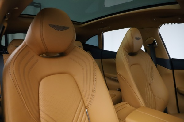 New 2021 Aston Martin DBX for sale $205,386 at Aston Martin of Greenwich in Greenwich CT 06830 21
