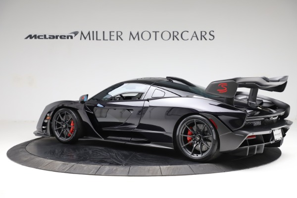 Used 2019 McLaren Senna for sale Call for price at Aston Martin of Greenwich in Greenwich CT 06830 3