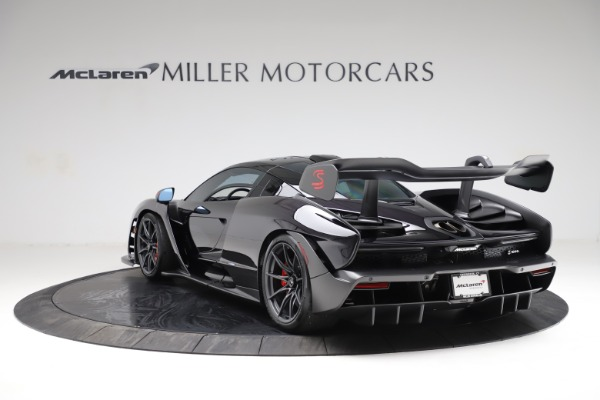 Used 2019 McLaren Senna for sale Call for price at Aston Martin of Greenwich in Greenwich CT 06830 4
