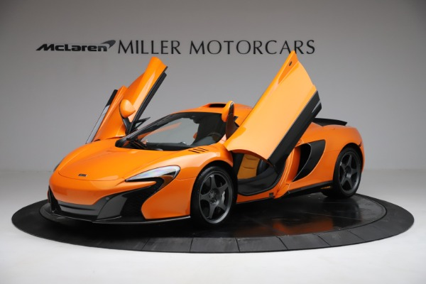 Used 2015 McLaren 650S LeMans for sale $269,990 at Aston Martin of Greenwich in Greenwich CT 06830 13