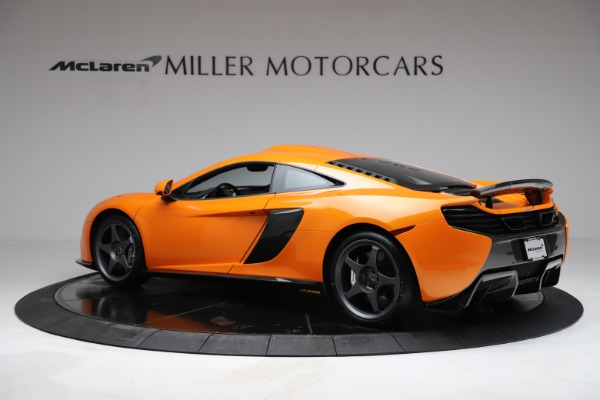 Used 2015 McLaren 650S LeMans for sale $269,990 at Aston Martin of Greenwich in Greenwich CT 06830 3