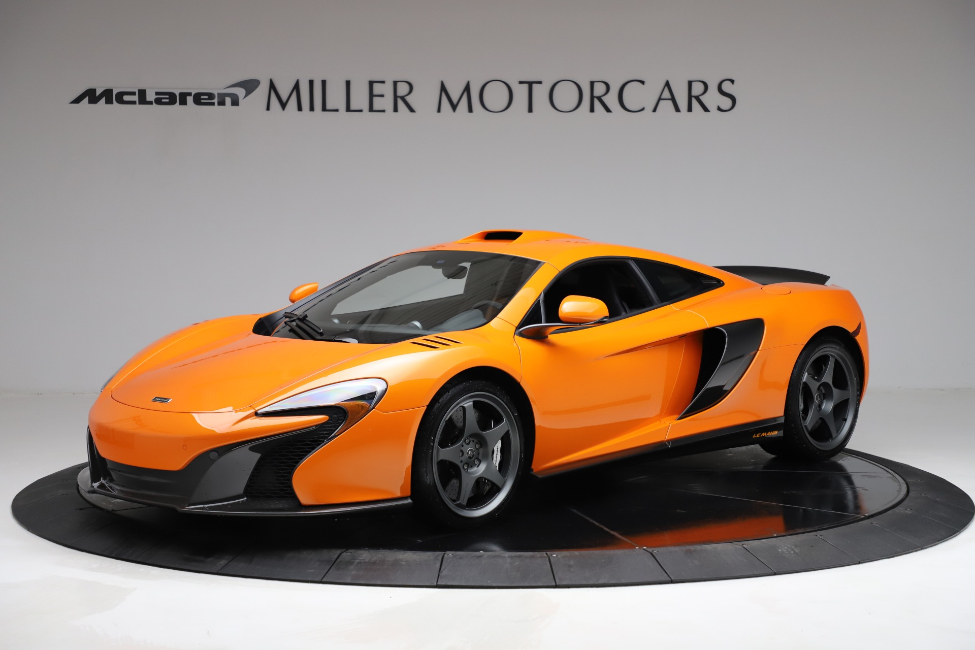 Used 2015 McLaren 650S LeMans for sale $269,990 at Aston Martin of Greenwich in Greenwich CT 06830 1
