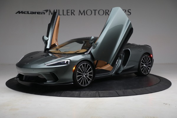 Used 2021 McLaren GT LUXE for sale Sold at Aston Martin of Greenwich in Greenwich CT 06830 14
