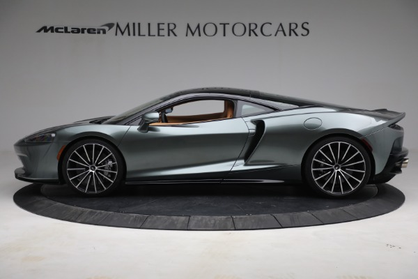 Used 2021 McLaren GT LUXE for sale Sold at Aston Martin of Greenwich in Greenwich CT 06830 3
