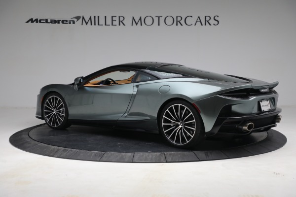 Used 2021 McLaren GT LUXE for sale Sold at Aston Martin of Greenwich in Greenwich CT 06830 4