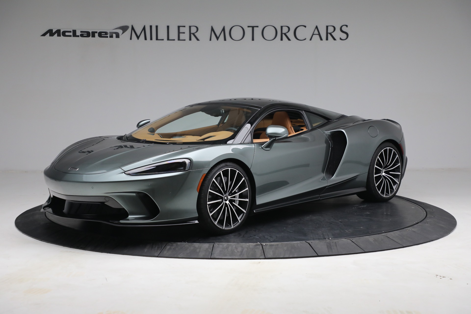 Used 2021 McLaren GT LUXE for sale Sold at Aston Martin of Greenwich in Greenwich CT 06830 1