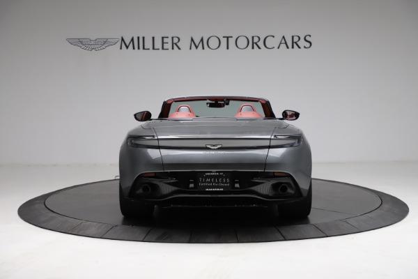 Used 2019 Aston Martin DB11 Volante for sale $211,990 at Aston Martin of Greenwich in Greenwich CT 06830 5