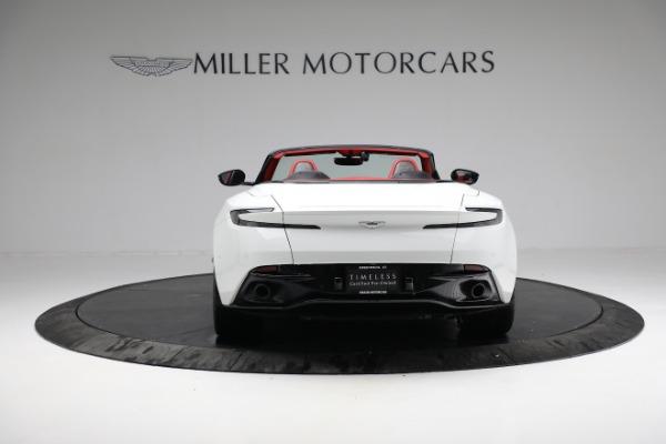 Used 2019 Aston Martin DB11 Volante for sale $209,990 at Aston Martin of Greenwich in Greenwich CT 06830 5