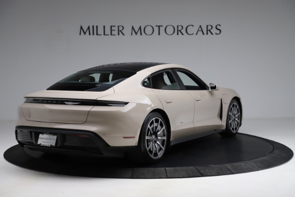 Used 2021 Porsche Taycan 4S for sale Sold at Aston Martin of Greenwich in Greenwich CT 06830 8
