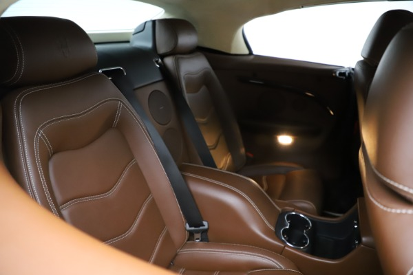 Used 2013 Maserati GranTurismo Sport for sale Call for price at Aston Martin of Greenwich in Greenwich CT 06830 17
