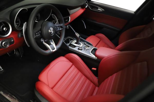New 2021 Alfa Romeo Giulia Ti Sport for sale $54,050 at Aston Martin of Greenwich in Greenwich CT 06830 12
