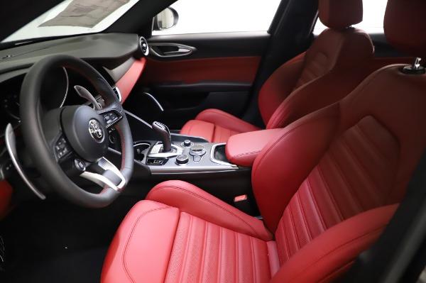 New 2021 Alfa Romeo Giulia Ti Sport for sale $54,050 at Aston Martin of Greenwich in Greenwich CT 06830 13