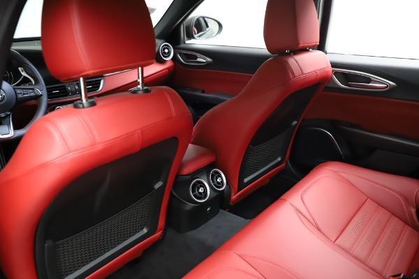 New 2021 Alfa Romeo Giulia Ti Sport for sale $54,050 at Aston Martin of Greenwich in Greenwich CT 06830 17