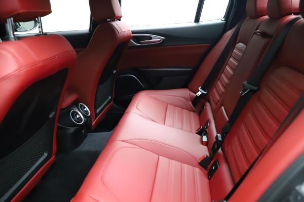 New 2021 Alfa Romeo Giulia Ti Sport for sale $54,050 at Aston Martin of Greenwich in Greenwich CT 06830 18