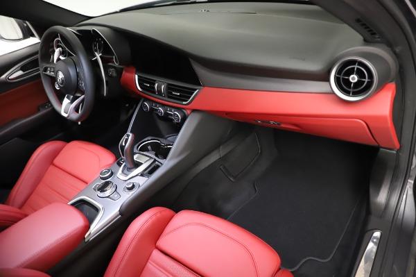 New 2021 Alfa Romeo Giulia Ti Sport for sale $54,050 at Aston Martin of Greenwich in Greenwich CT 06830 21