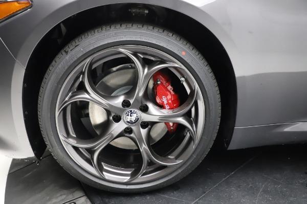 New 2021 Alfa Romeo Giulia Ti Sport for sale $54,050 at Aston Martin of Greenwich in Greenwich CT 06830 26