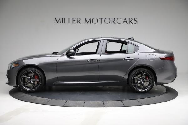 New 2021 Alfa Romeo Giulia Ti Sport for sale $54,050 at Aston Martin of Greenwich in Greenwich CT 06830 3