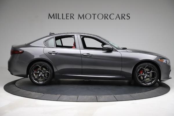 New 2021 Alfa Romeo Giulia Ti Sport for sale $54,050 at Aston Martin of Greenwich in Greenwich CT 06830 8