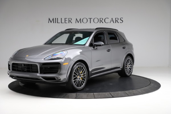 Used 2020 Porsche Cayenne Turbo for sale $145,900 at Aston Martin of Greenwich in Greenwich CT 06830 2