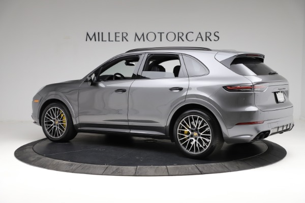 Used 2020 Porsche Cayenne Turbo for sale $145,900 at Aston Martin of Greenwich in Greenwich CT 06830 4