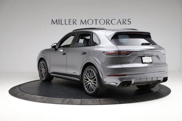 Used 2020 Porsche Cayenne Turbo for sale $145,900 at Aston Martin of Greenwich in Greenwich CT 06830 5