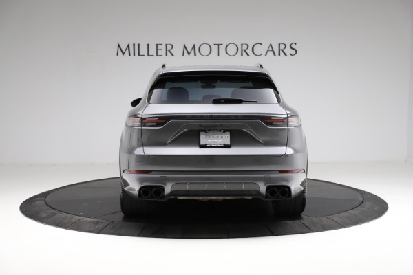 Used 2020 Porsche Cayenne Turbo for sale $145,900 at Aston Martin of Greenwich in Greenwich CT 06830 6