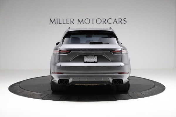 Used 2020 Porsche Cayenne Turbo for sale $145,900 at Aston Martin of Greenwich in Greenwich CT 06830 7