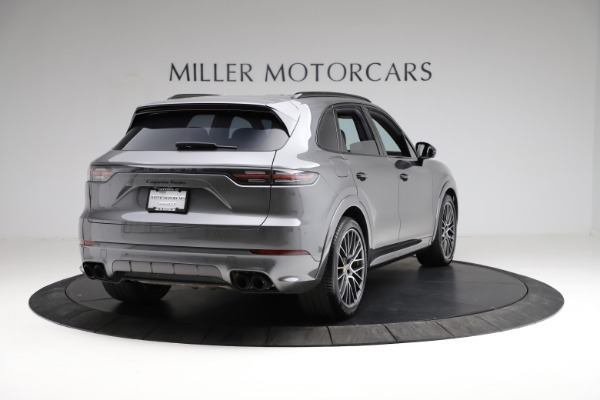 Used 2020 Porsche Cayenne Turbo for sale $145,900 at Aston Martin of Greenwich in Greenwich CT 06830 8