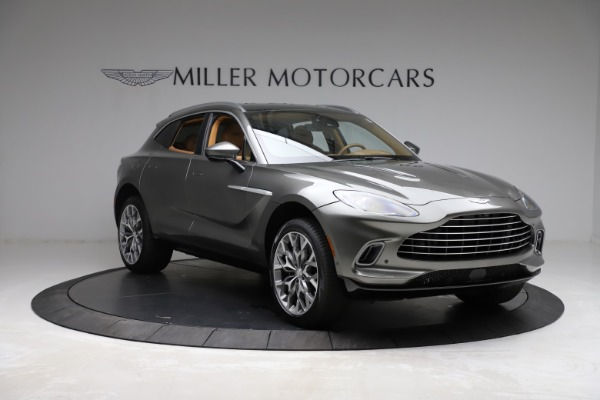 New 2021 Aston Martin DBX for sale $211,486 at Aston Martin of Greenwich in Greenwich CT 06830 10