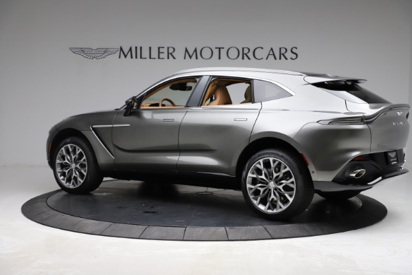 New 2021 Aston Martin DBX for sale $211,486 at Aston Martin of Greenwich in Greenwich CT 06830 3